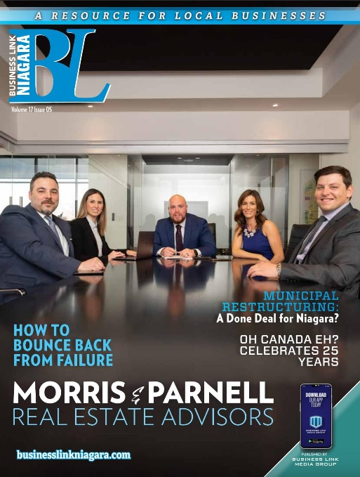 Business Link Niagara - Magazine Cover